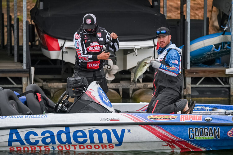 Image for Jacob Wheeler Leads Group B at Bass Pro Tour – Berkley Stage Two Presented by Mercury at Lake Travis