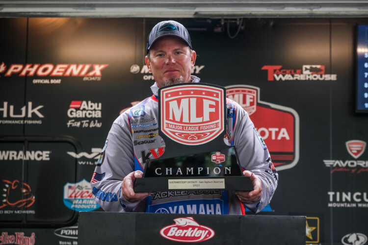 Image for Keith Combs Wins Toyota Series Event on Sam Rayburn Reservoir Presented by Berkley