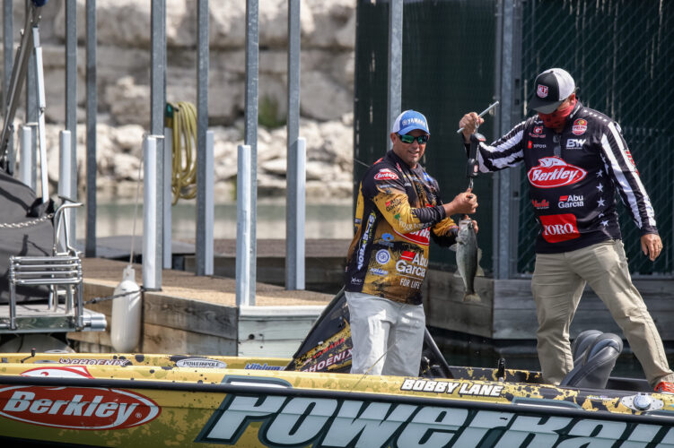 Image for Bobby Lane Wins Knockout Round at Bass Pro Tour Berkley Stage Two Presented by Mercury at Lake Travis