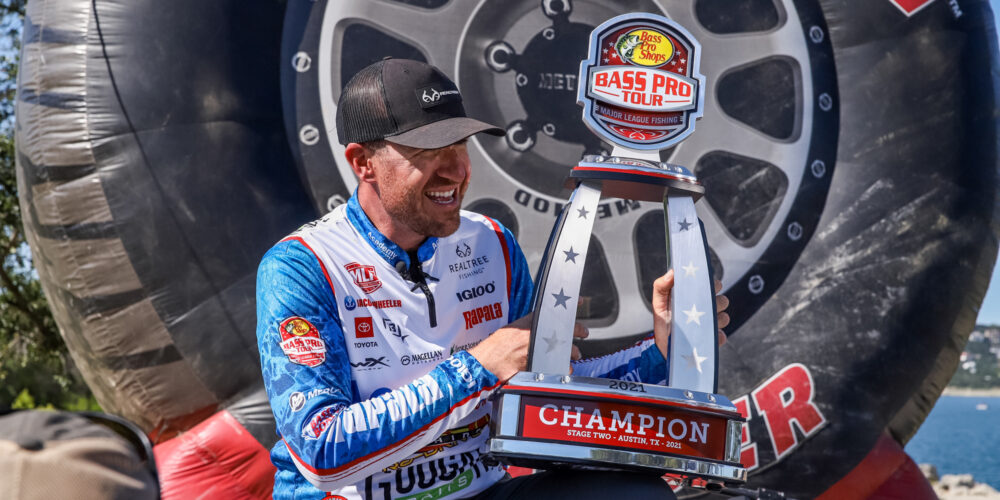 Image for Wheeler Narrowly Outlasts Bobby Lane for Third Bass Pro Tour Championship
