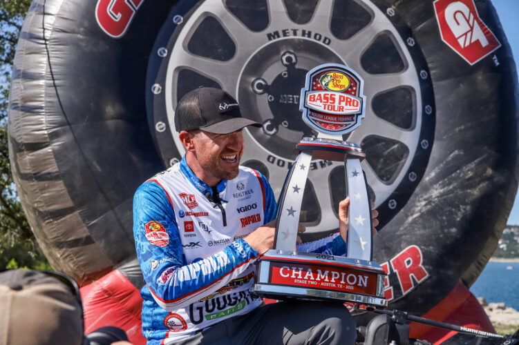 Image for Jacob Wheeler Wins Bass Pro Tour Berkley Stage Two Presented by Mercury at Lake Travis
