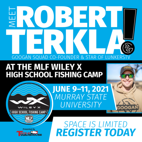 Image for Robert Terkla Joins Prominent MLF Pros at the Wiley X High School Fishing Camp Presented by Tackle Warehouse
