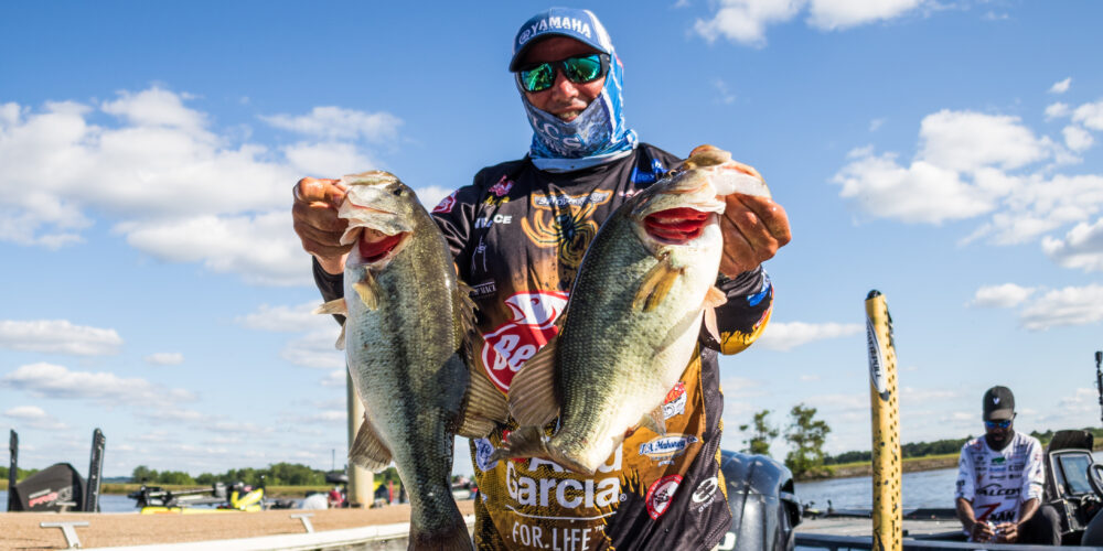 Image for Bobby Lane Leads Day 1 of Tackle Warehouse Pro Circuit Grundéns Stop 4 at Lake Eufaula