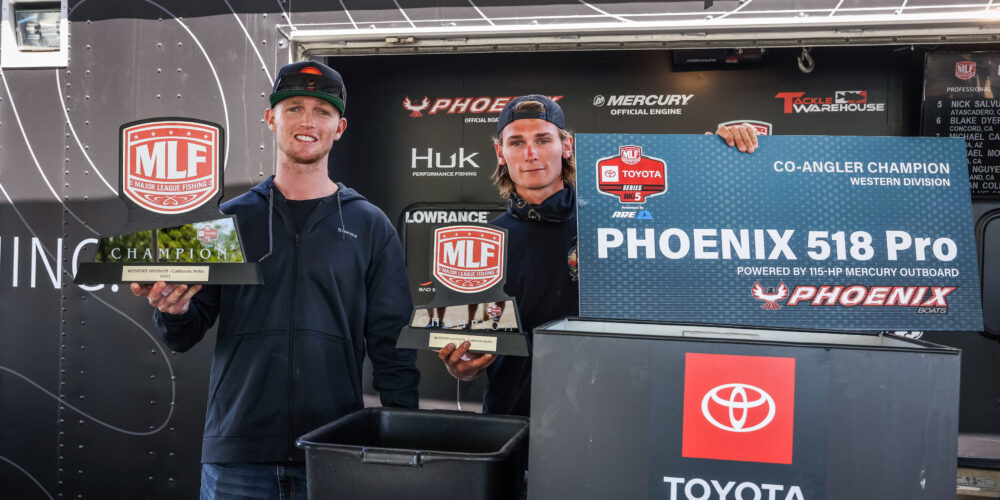 Image for Huntze Brothers Complete Clean Sweep at the Cal Delta