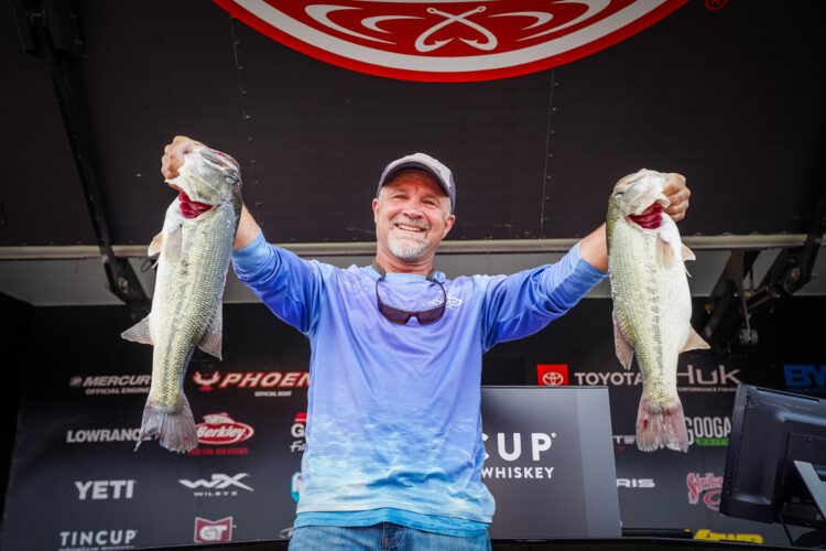 Image for Missouri's Brandenburg Leads Phoenix Bass Fishing League Presented By T-H Marine All-American at Douglas Lake Presented By TINCUP
