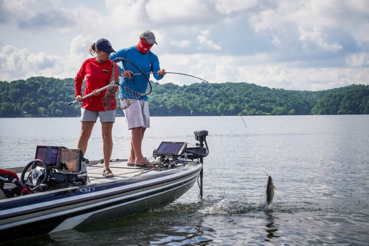 Image for Tennessee's Grimm Moves Into Lead at Phoenix Bass Fishing League Presented By T-H Marine All-American at Douglas Lake Presented By TINCUP