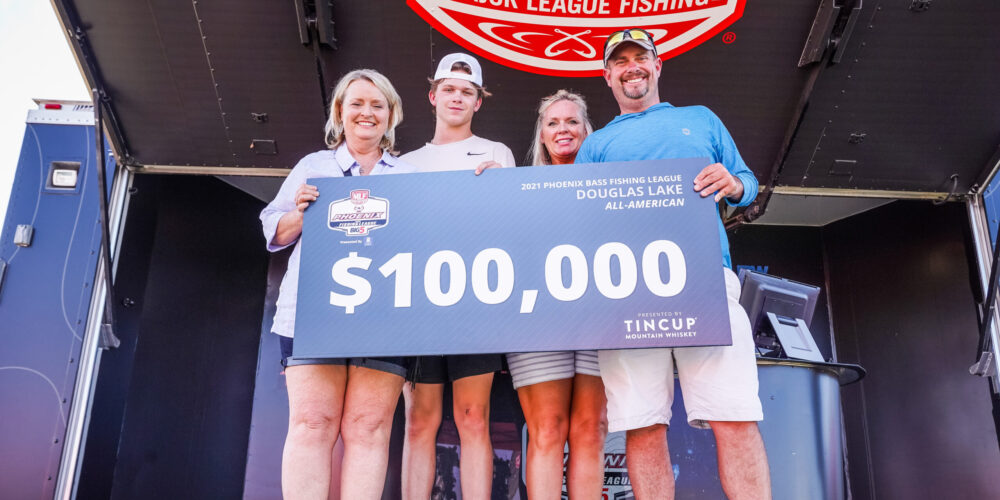 Image for Tennessee's Grimm Earns Win at 2021 Phoenix Bass Fishing League Presented By T-H Marine All-American Championship at Douglas Lake Presented By TINCUP