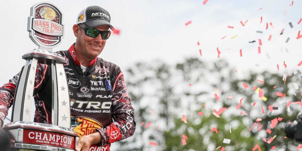Image for VanDam Rides Third-Period Run to First Bass Pro Tour Victory on Lake Chickamauga