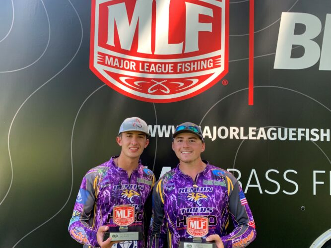 Image for Benton High School Wins U.S. Army High School Fishing Presented by Favorite Fishing Lake of the Pines