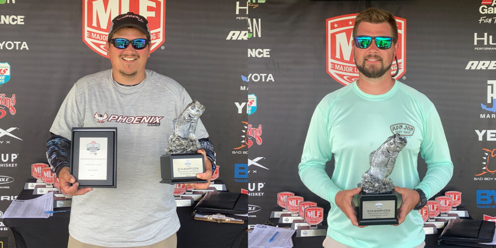 Image for Tennessee's Short Wins Phoenix Bass Fishing League on Cherokee Lake
