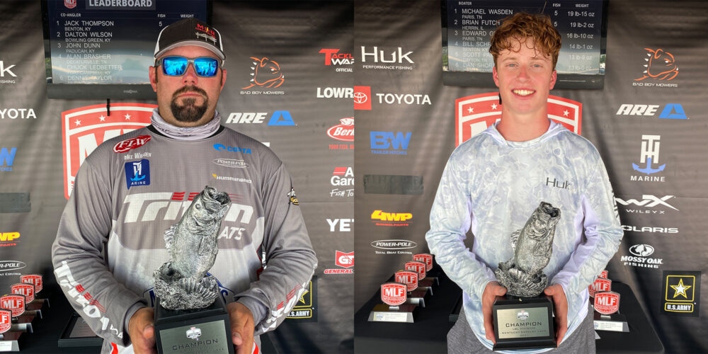 Image for Tennessee's Wasden Wins Phoenix Bass Fishing League on Kentucky-Barkley Lakes Presented by TINCUP