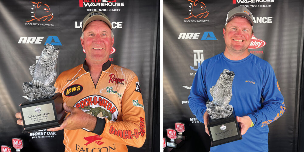 Image for Sunrise Beach's Dill Wins Phoenix Bass Fishing League on Lake Truman