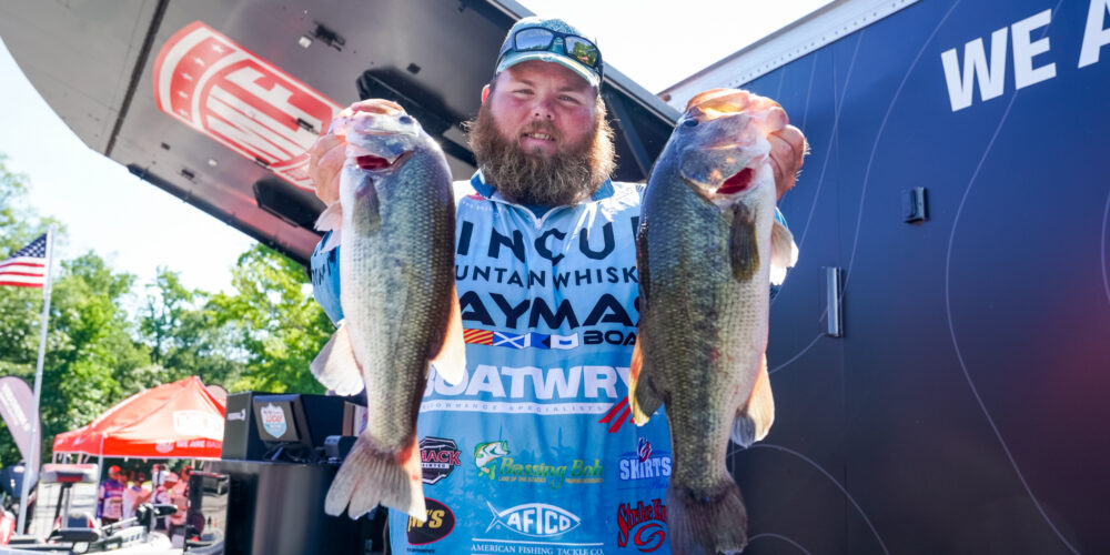 Image for Hibdon on Top After a Big Day on the Potomac