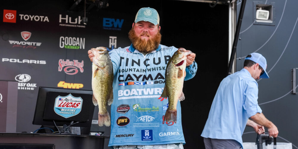 Image for Lawson Hibdon Pads Lead at Tackle Warehouse Pro Circuit Federal Ammunition Stop 5 Presented by Lucas Oil at Potomac River