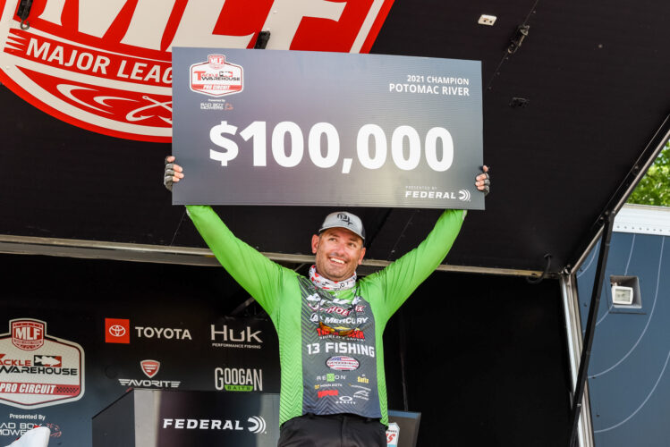 Image for GALLERY: Tackle Warehouse Pro Circuit, Potomac River, Day 4 Weigh-in