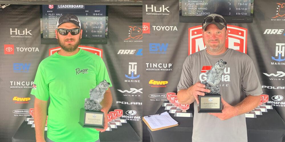 Image for Neoga's Walk Wins Phoenix Bass Fishing League on Lake Shelbyville