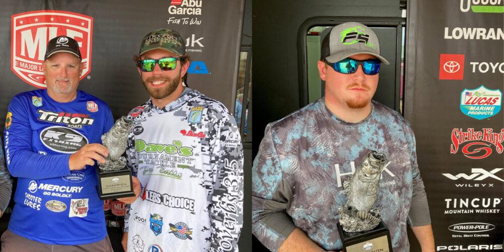 Image for Hamrick and Robertson Win Phoenix Bass Fishing League on High Rock Lake