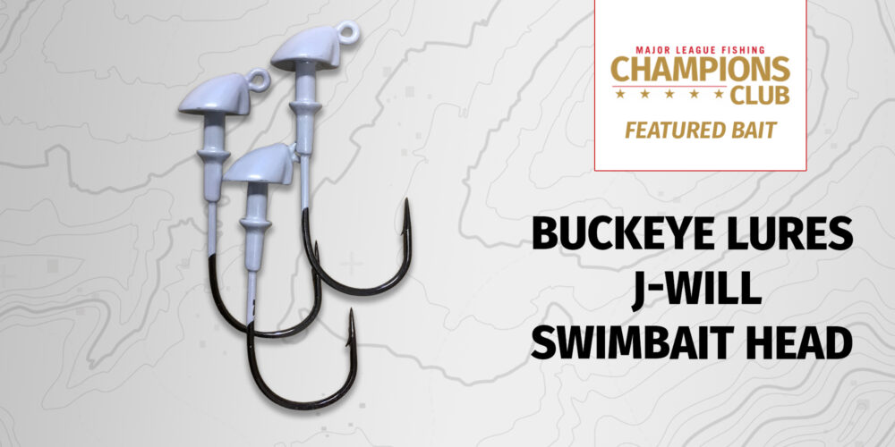 Image for Featured Bait: Buckeye Lures J-Will Swimbait Head (3-pack)