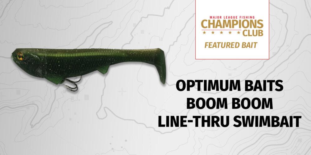 Image for Featured Bait: Optimum Baits Boom Boom Line-Thru Swimbait