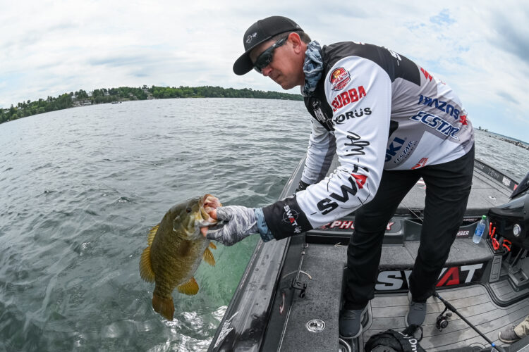 Image for Gerald Spohrer Tops Knockout Round at Bass Pro Tour General Tire Stage Five at St. Lawrence River Presented by Berkley