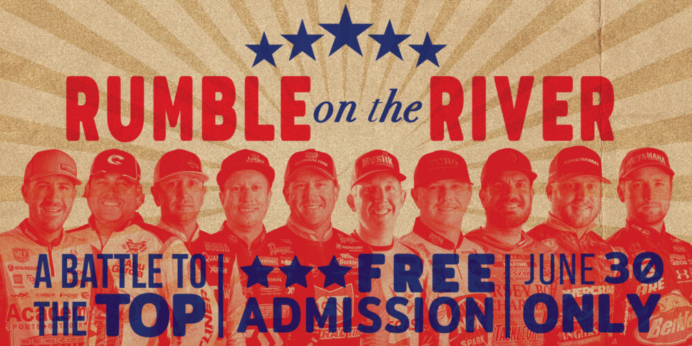 Image for RUMBLE ON THE RIVER: Brace Yourselves for a Battle Royale in Stage Five Championship Round