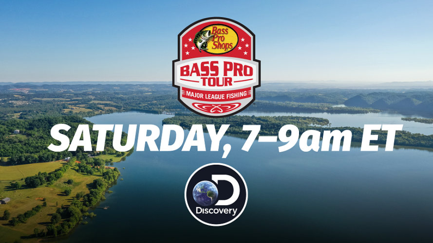 Image for Major League Fishing's Bass Pro Tour Season Three Set to Premiere Saturday on Discovery Channel