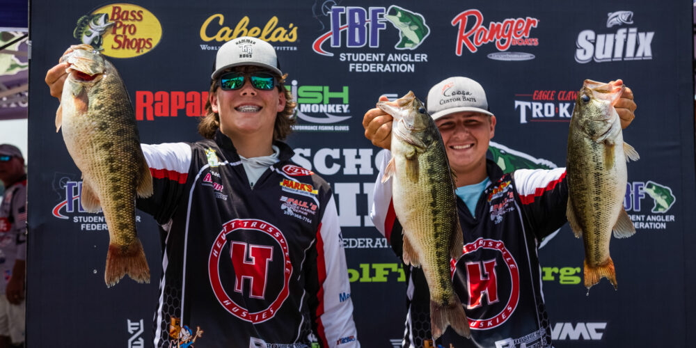 Image for Jones and Underwood Take High School Fishing World Finals Title
