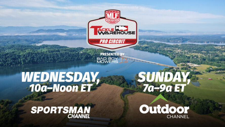 Image for Major League Fishing's Tackle Warehouse Pro Circuit Set to Premiere on Sportsman Channel Wednesday