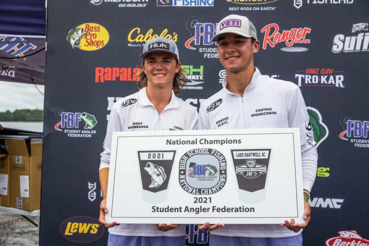 Image for Pennsylvania's Central High School Wins 2021 High School Fishing National Championship on Lake Hartwell