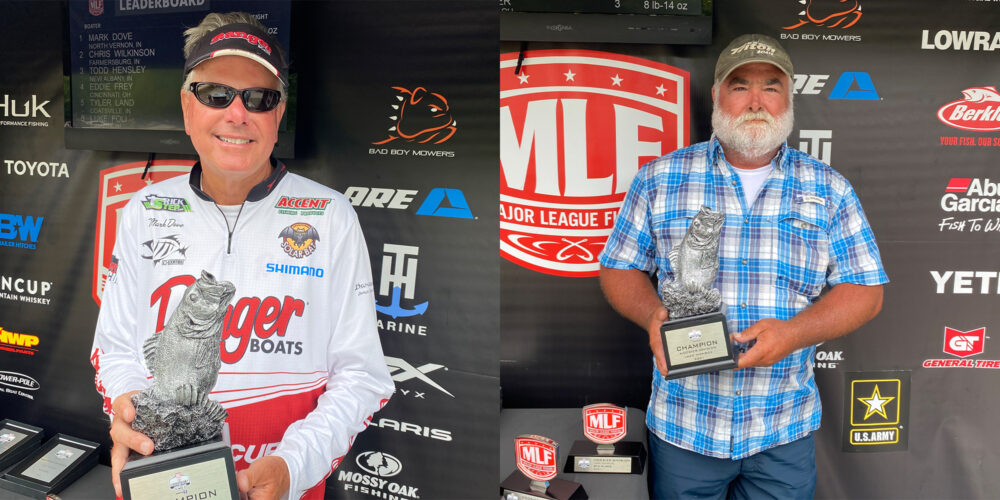Image for North Vernon's Dove Wins Phoenix Bass Fishing League on Lake Monroe