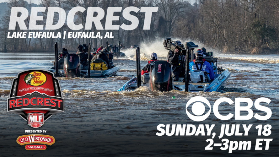 Image for Major League Fishing's REDCREST 2021 Special to Air Sunday on CBS, Discovery Channel Airing Pre-Empted Due to Shark Week