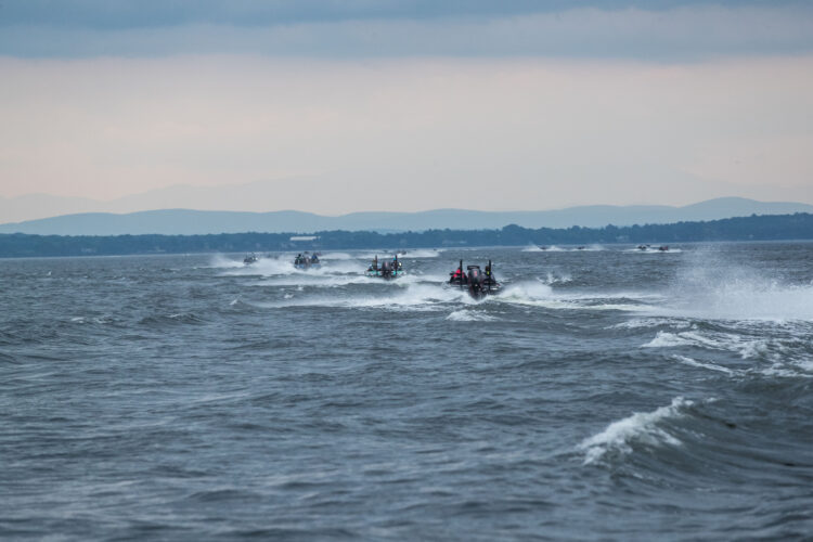 Image for GALLERY: Toyota Series Northern Division, Lake Champlain, Day 2 Takeoff