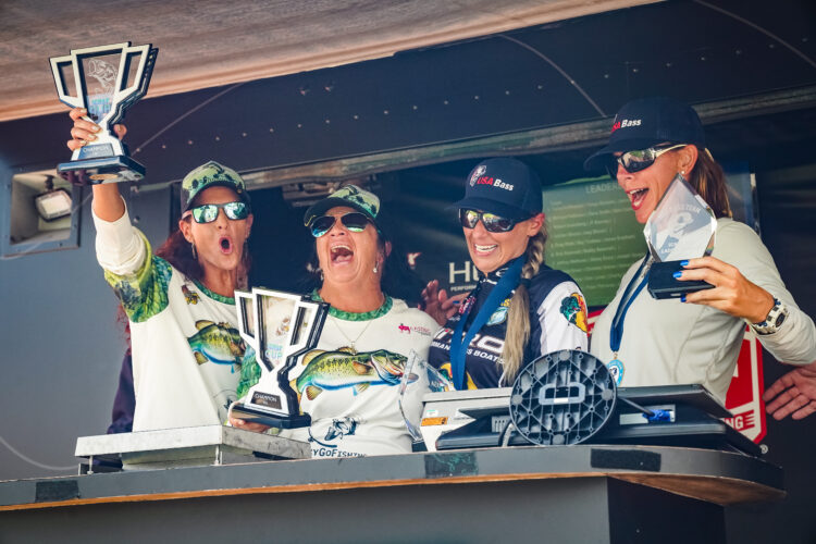 Image for Female Anglers Bring the Heat at ICAST Cup 2021