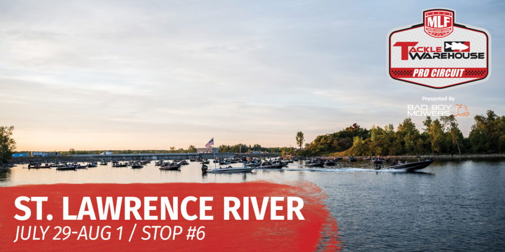 Image for St. Lawrence River and Massena Set for Tackle Warehouse Pro Circuit Savage Arms Stop 6 Presented by Abu Garcia