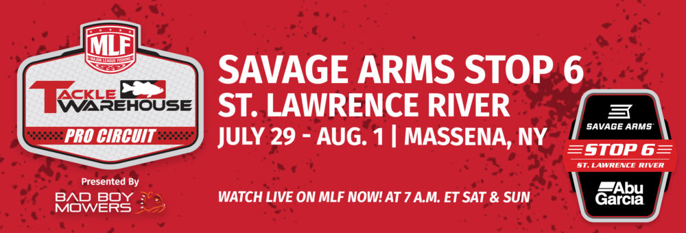 Savage Arms Stop 6 St. Lawrence River Presented by Abu Garcia