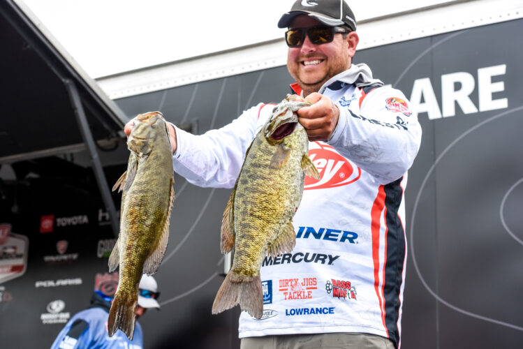 Image for GALLERY: Tackle Warehouse Pro Circuit, St. Lawrence River, Day 1 Weigh-in