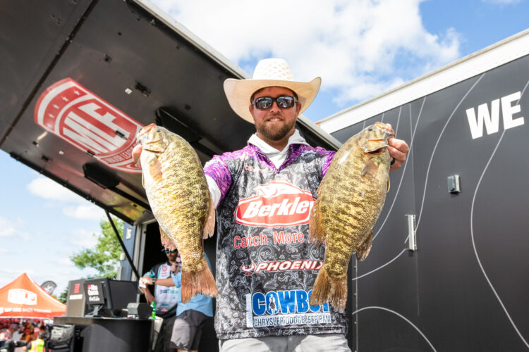 Image for GALLERY: Tackle Warehouse Pro Circuit, St. Lawrence River, Day 2 Weigh-in