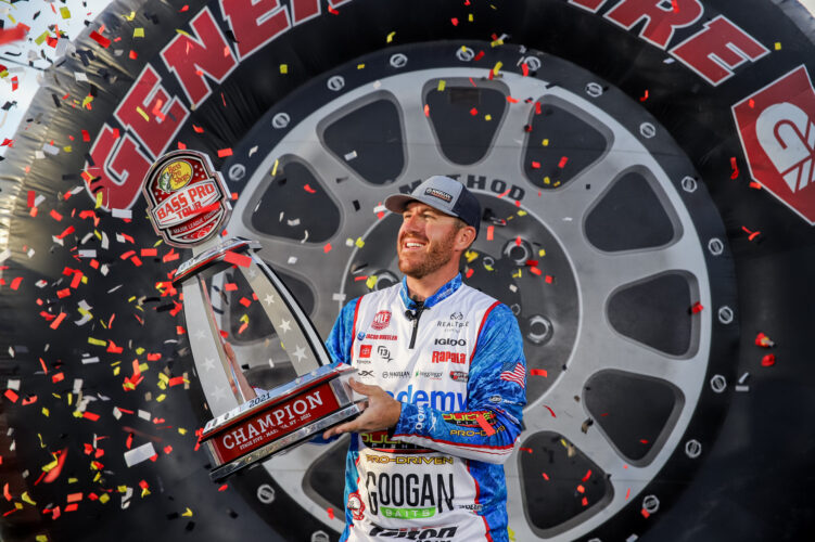 Image for Jacob Wheeler Wins Bass Pro Tour General Tire Stage Five at St. Lawrence River Presented by Berkley