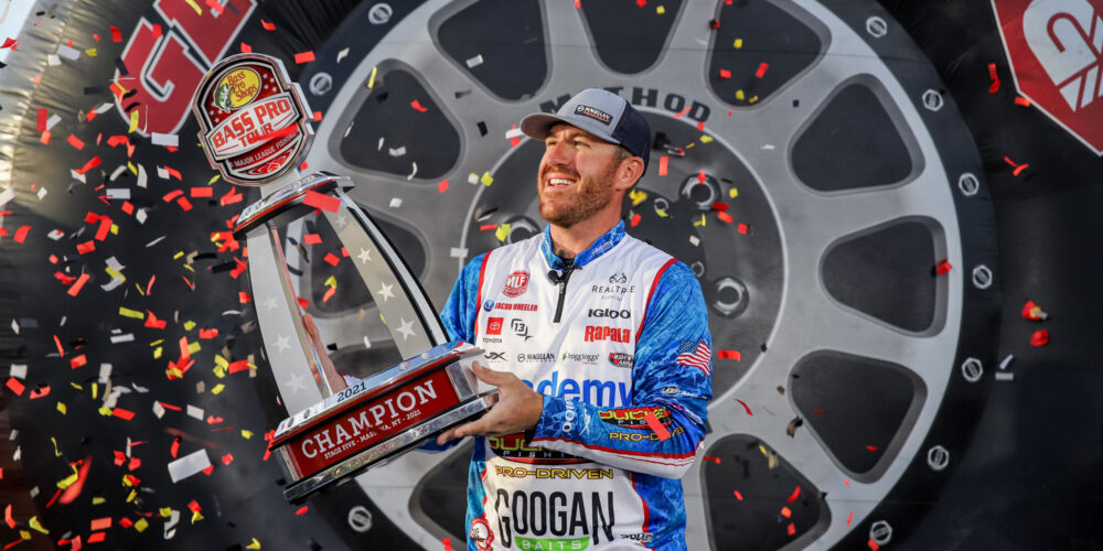 Image for Wheeler Whacks 'Em on St. Lawrence River to Win Fourth Bass Pro Tour Championship