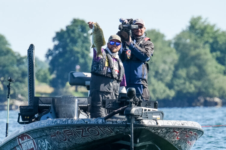 Image for GALLERY: Tackle Warehouse Pro Circuit, St. Lawrence River, Day 3 Morning