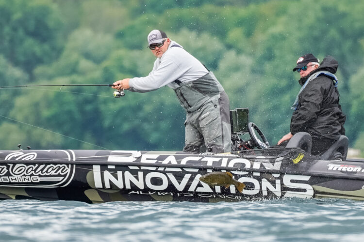 Image for GALLERY: Tackle Warehouse Pro Circuit, St. Lawrence River, Day 4 Morning