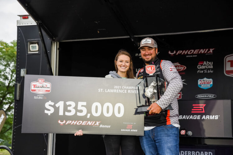 Image for Virginia Rookie Cody Pike Claims Victory at Tackle Warehouse Pro Circuit Savage Arms Stop 6 Presented by Abu Garcia at St. Lawrence River