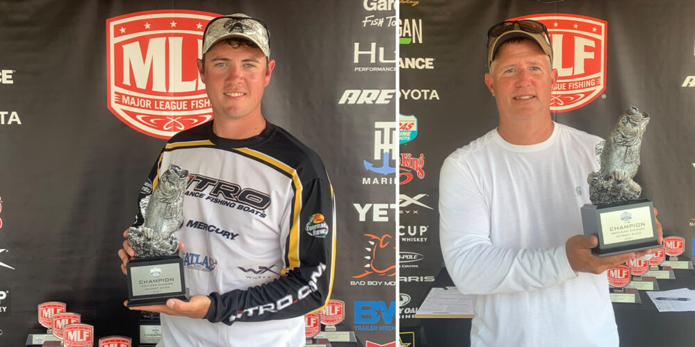 Image for Waterford's Hellebuyck Wins Phoenix Bass Fishing League on Detroit River