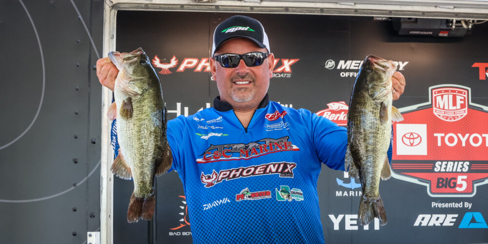 Image for Consistent Moreno on Top After Day 2 at the Cal Delta