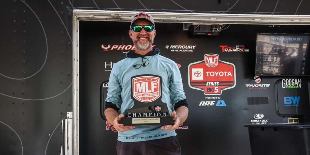 Image for Hurney Goes Wire-To-Wire at Delta for Strike King Co-Angler Win