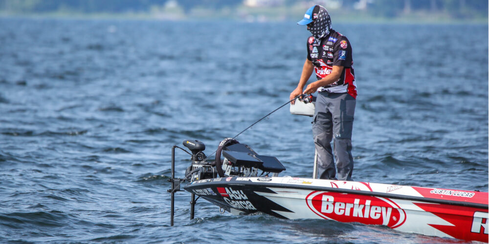 Image for Lucas Paces Field on Deep Smallmouth Bite on Lake Champlain