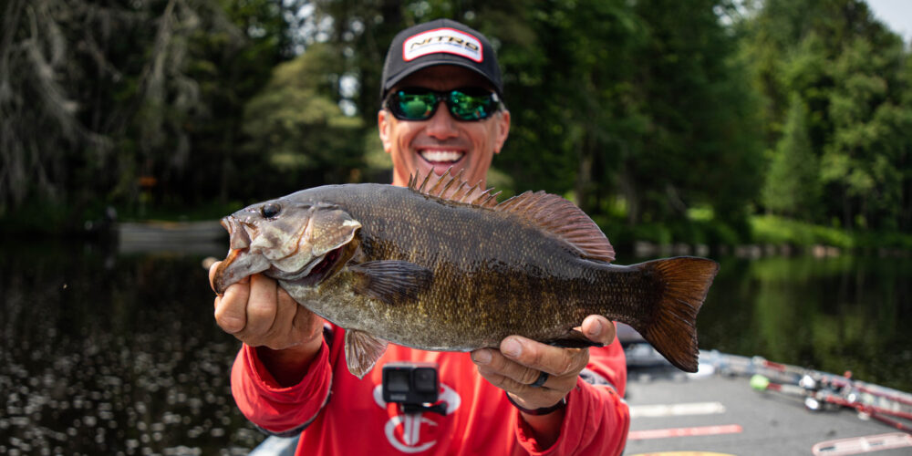 Image for EDWIN EVERS: My Smallmouth One-Two Punch!