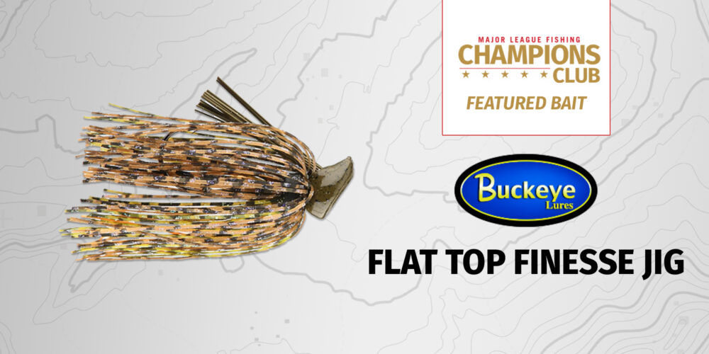 Image for Featured Bait: Buckeye Lures Flat Top Finesse Jig