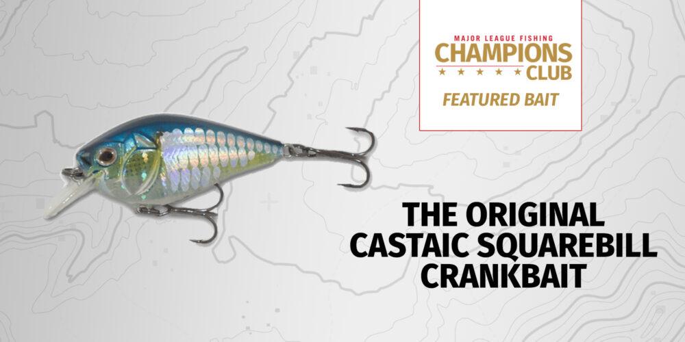 Image for Featured Bait: The Original Castaic Squarebill Crankbait