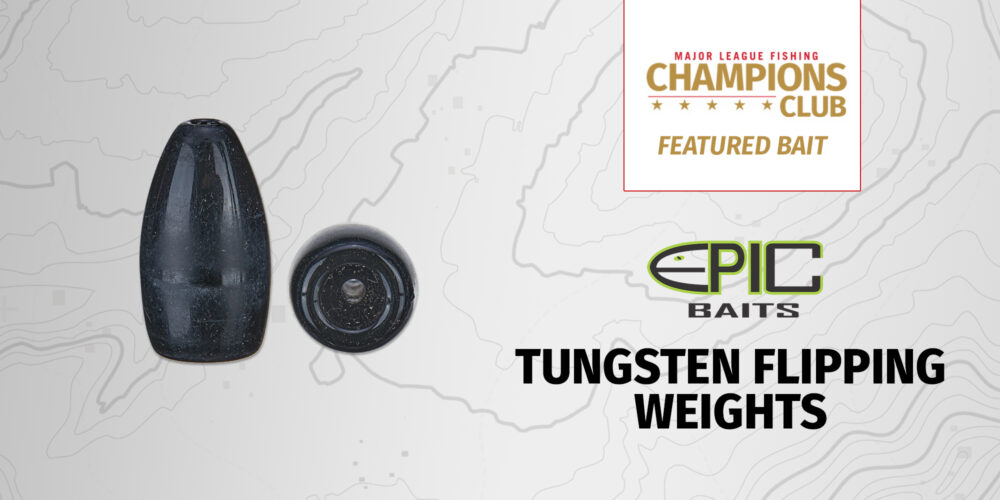 Image for Featured Bait: Epic Tungsten Flipping Weights